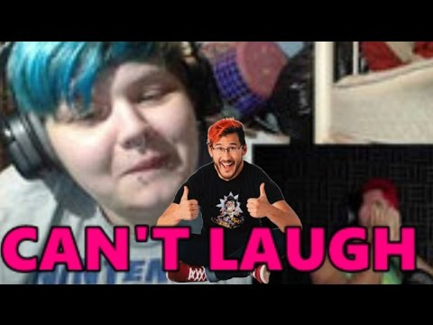 Markiplier Try Not To Laugh Challenge [REACTION] - YouTube Markiplier Try Not To Laugh