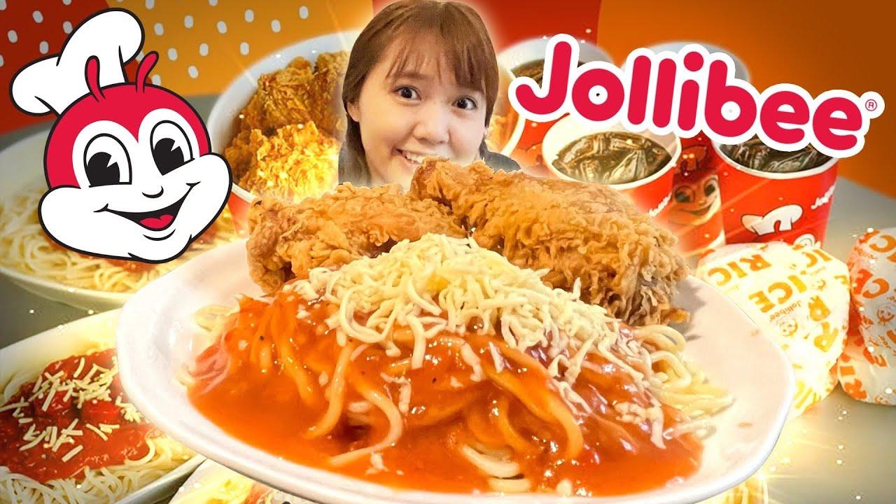 Finaly I Eat Jollibee Chickens and Spaghetti! Super Masarap !