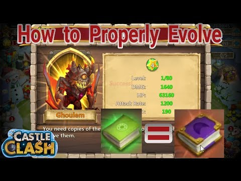 Castle Clash Evolving Heroes Tip For 499,000 Extra Exp