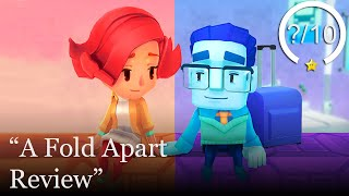 A Fold Apart Review [Switch & PC] (Video Game Video Review)