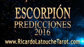 Video Predicciones 2016 ESCORPION Horoscopo | Ricardo Latouche Tarot