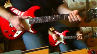 Stiff Little Fingers ~ Gotta Getaway ~ Guitar Riff