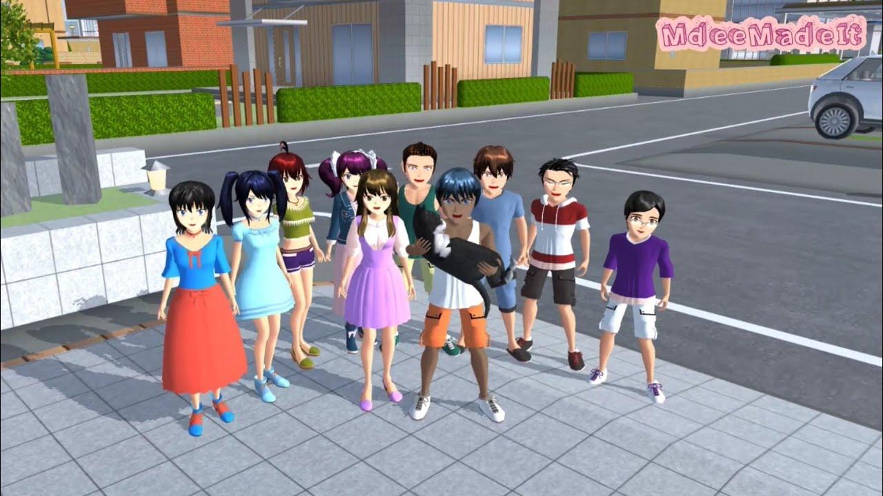 TAIGA'S LIFE: Vacation | Sakura School Simulator
