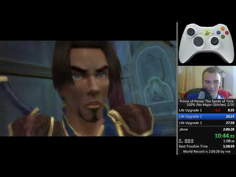 Prince of Persia Sands of Time 100% NMG 1:57:41 [WR]