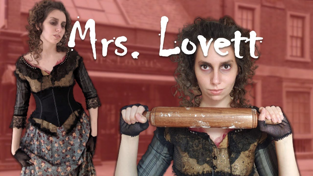 Download Mrs. Lovett Cosplay Makeup & Costume Tutorial   Cosplay Get Ready With Me