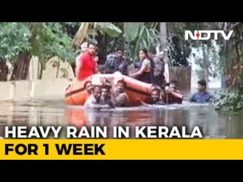 Nearly 34,000 People Housed In Relief Camps After Floods In Kerala