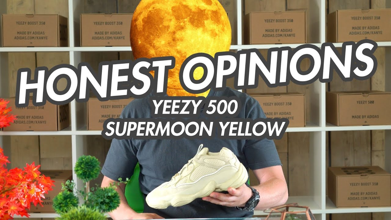a39962c65f6 ADIDAS YEEZY 500 SUPER MOON YELLOW  HONESTOPINIONS - YouTube