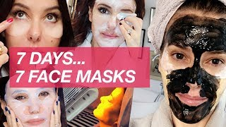 7 DAYS, 7 FACE MASKS - SKINCARE VLOG