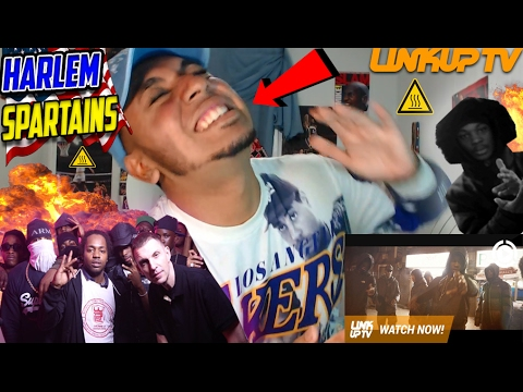 AMERICAN LISTENS TO Harlem Spartans FOR THE FIRST TIME! Call Me A Spartan Reaction/Splash and clash