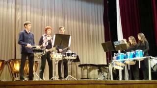Концерт ансамбля ударных инструментов Елены Пекарской «Crash band» (ЗАПИСЬ КВАДРО)