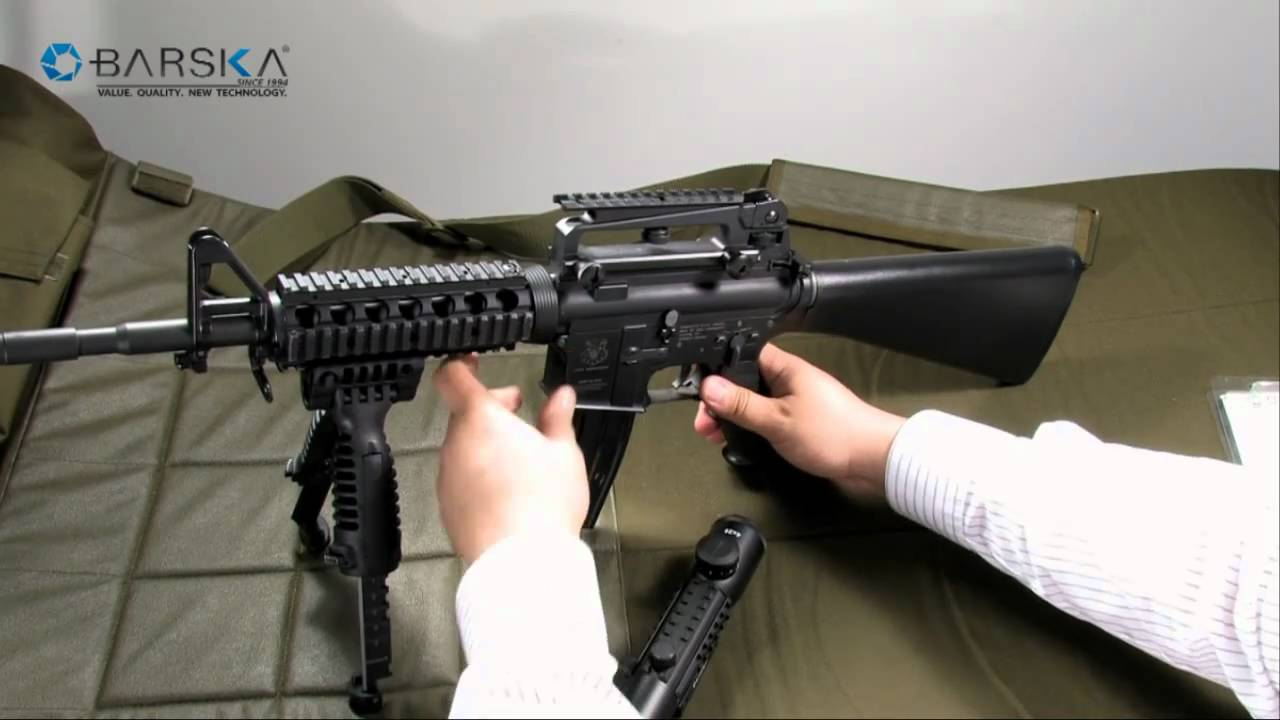 M16 u s armed forces standard carry handle mount aw11141 youtube