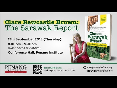 Clare Rewcastle Brown: The Sarawak Report | Event Highlights