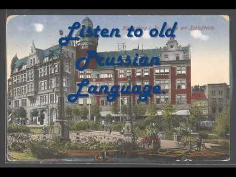 PRUSSIAN language is Alive WATCH