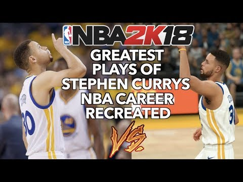 c56d765b8 GREATEST PLAYS OF STEPHEN CURRY S NBA CAREER RECREATED IN NBA 2K
