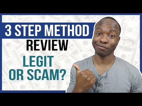3 Step Method Review - Watch Now And Thank Me Later... (LEGIT Or SCAM?)
