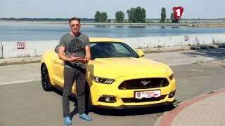 """Первый тест"" Тест-драйв Ford Mustang"