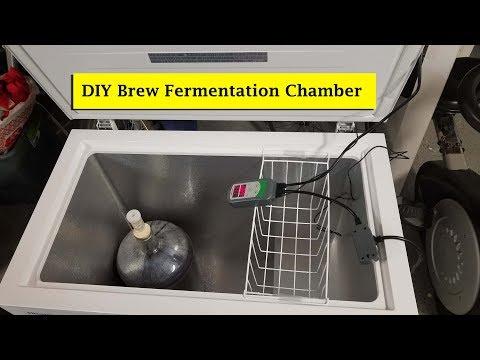 Easy DIY Brew Fermentation Chamber Part 1 of 2   Home Brewing DIY