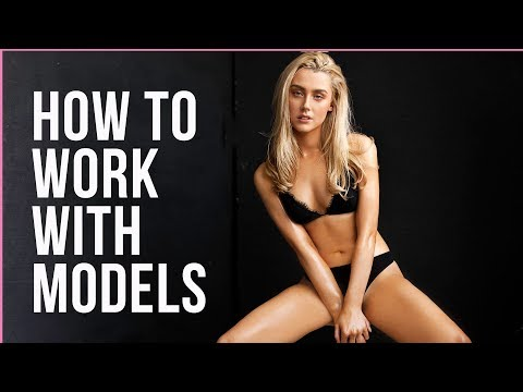 How to Photograph Professional Fashion Models -Test Photoshoots