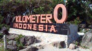 Suasana Kilometer Nol Indonesia