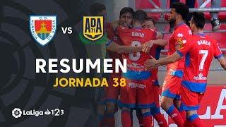 Resumen de CD Numancia vs AD Alcorcón (2-0)