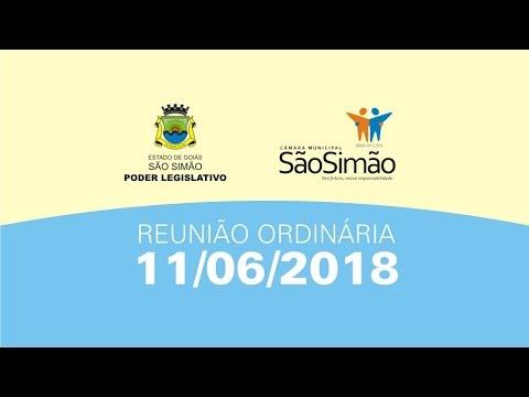 REUNIAO ORDINARIA 11/06/2018