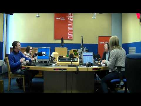 Mr and Mrs Real Ale Guide On BBC Radio Wales Jamie & Louise Breakfast Show