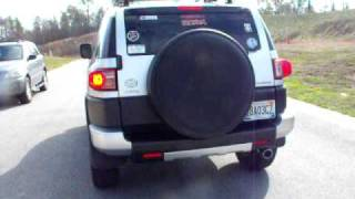 fj cruiser straight pipe exhaust take off