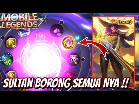 SULTAN BAKAR DIAMONDS DEMI DAPATIN SKIN LEGEND TERMAHAL !