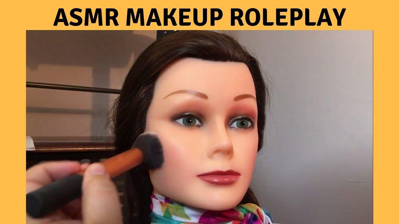 Doll makeup asmr no talking