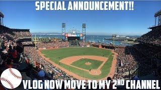 Important announcement!! Baseball vlog is now going to be move to my ...