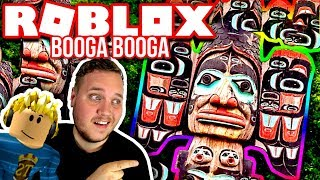 TOTEMP-LEN BESKYTTER BASEN! :: Booga Booga Ep. 2 - Dansk Roblox