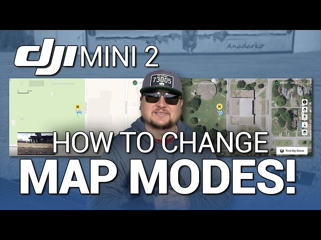 DJI Mini 2 / How to Change MAP MODES! (Tutorial)