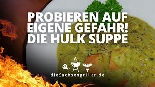 Erbsensuppe schnell und schmackhaft, DDR Partyrezept aus dem Dutch Oven - die sachsengriller