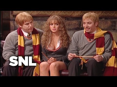 Thumbnail: Harry Potter: Hermione Growth Spurt - Saturday Night Live