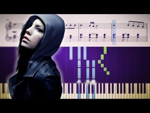 INVISIBLE (Skylar Grey) - Piano Tutorial + SHEETS