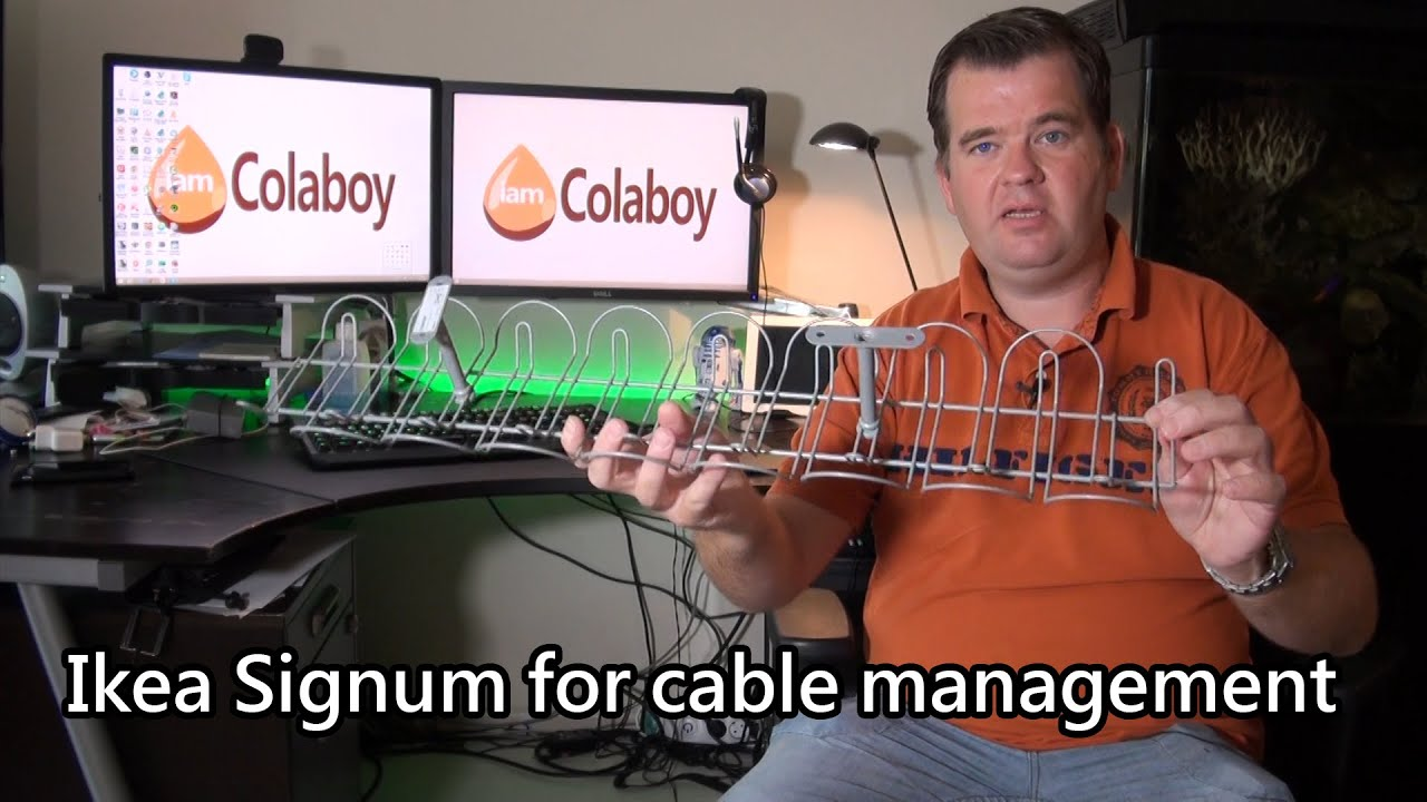 cable management with the ikea signum