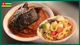 Is This The World's Most UNDERRATED Food? TOGOLESE FOOD (MAYONNAISE & SPAGHETTI!?!?)