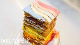 Dominique Ansel Reimagines the Rainbow Cake