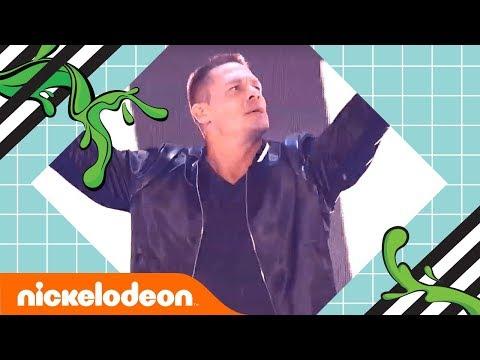 John Cena Dances to BTS's 'Mic Drop' 🎤 2018 Kids' Choice Awards | Nick