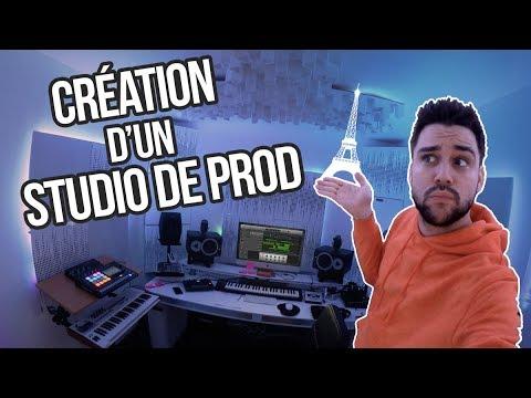 CREER UN STUDIO DE PROD DE A à Z + MATOS EN DETAILS