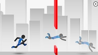 Stickman Parkour Runner | New Stickman Game - Android GamePaly#8 FHD
