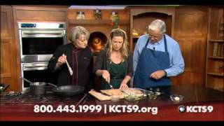 Blue Cheese & Spinach Stuffed Chicken With Lemon Wine Sauce | Kcts 9 Cooks
