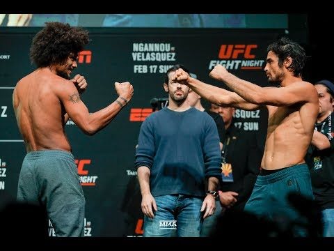 UFC Phoenix Weigh-Ins: Alex Caceres vs. Kron Gracie - MMA Fighting