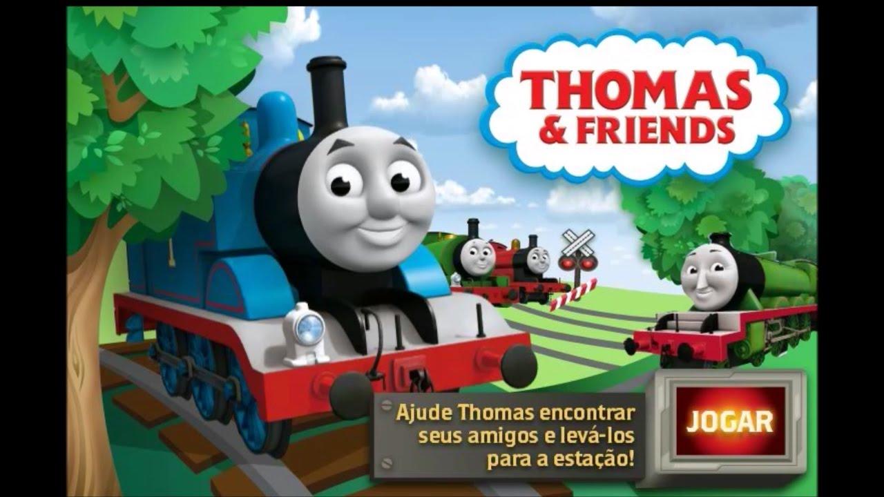 Thomas E Seus Amigos Thomas Vamos Jogar Youtube