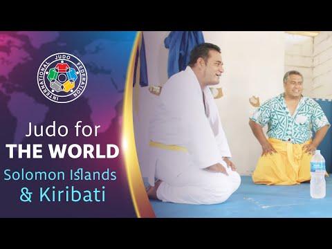 Judo For The World - Solomon Islands & Kiribati