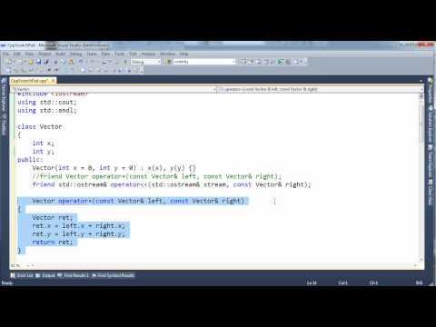 C++ Overloading Operators Using Member Functions