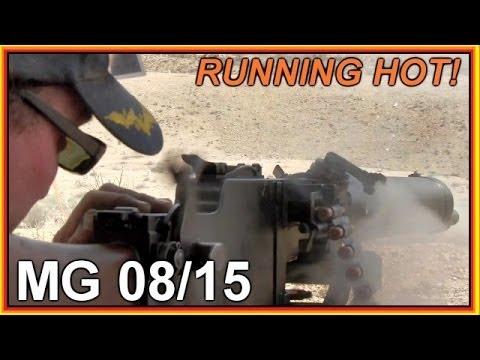 German WW1 MG 08/15 Machine Gun -  How does it work?