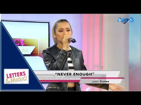 EUMEE - NEVER ENOUGH (NET25 LETTERS AND MUSIC)