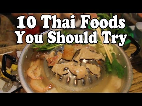 Thai Food Guide: 10 Delicious Thai Foods You Should Eat in Thailand in 2017