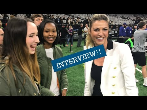 Our Interview with Erin Andrews | NolaGirlz (check description)